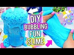 (211) DIY BUBBLING Slime! How To Make The MOST FUN SLIME Ever! - YouTube