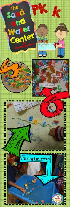"$ Do you have reservations about having a sand and water table in your room?  If so, here is the answer for you! All activities are designed based on brain research and meet many of the Common Core Objectives.  Using a sand/water or ""sensory"" table encourages higher-level thinking and problem-solving skills, naturally scaffolds learning, builds vocabulary, improves strength in small motor muscles, and allows for exploration, observation and discovery."