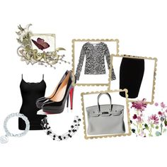 """""""Animal print at the office"""" by taniacv on Polyvore"""