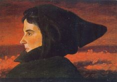 Hugu Simberg - Woman, 1890