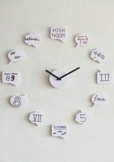Cute clock for teen girl room