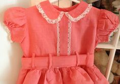 Handmade 60s Dress 1824 Months by lishyloo on Etsy, $18.00