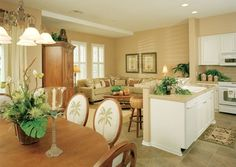 Tropical Kitchen Colors | Tropical Style Interior Decoration Dining Room  And Kitchen Ideas Feel .