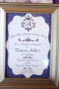 Abby's Royal Princess Party   CatchMyParty.com