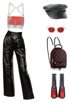 """042"" by crk-g ❤ liked on Polyvore featuring Yves Saint Laurent, Balmain, Fannie Schiavoni, Volcom and Vetements"
