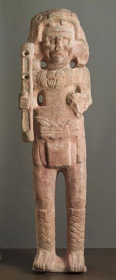 Standing Figure, 9th–10th century Mexico; Maya