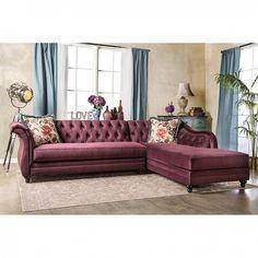 Furniture of America Rotterdam Sectional Las Vegas Furniture Online | LasVegasFurnitureOnline | Lasvegasfurnitureonline.com