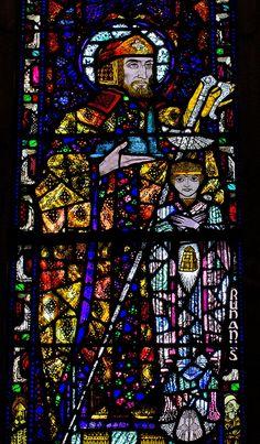 The Honan Chapel Harry Clarke, Irish Art, Arts And Crafts Movement, Stained Glass Windows, City Photo, Glass Art, Gallery, Illustration, Random Stuff