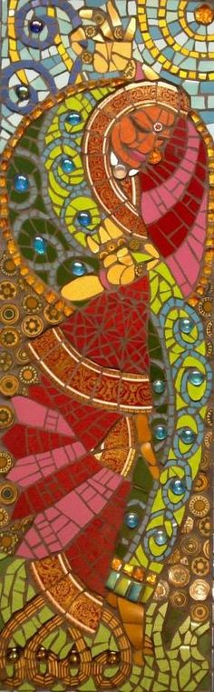 © Caroline Jariwala   Dance of Life  2012  81 x 26 cm  Created at Mango Mosaics