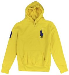 ... sweatshirt 7487c 430b4  reduced polo ralph lauren mens big pony  pullover hoodie yellow xxl . 19e54 3f039 cb7f0cecf6