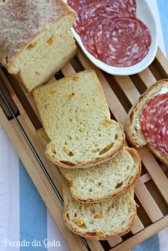 PECADO DA GULA: Pão de fubá e milho