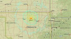 Oklahoma earthquake 2016: The quake struck at a depth of 6 kilometers (3.7 miles) and was felt in five states, according to the U.S. Geological Survey.
