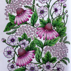 Instagram media susanbecca - #blomstermandala #blomstermandalamålarbok #blomstermandalacoloringbook #mariatrolle #maria_trolle #blomster