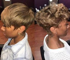 Pixie cuts is a great idea for a new short hair. If you got brave, these 20 Best Layered Pixie Cuts are awesome for you. These trendy unique short hair ideas. Short Sassy Hair, Girl Short Hair, Short Hair Cuts, Pixie Cuts, Short Pixie, Straight Hair, Curly Hair Styles, Natural Hair Styles, Hair Laid