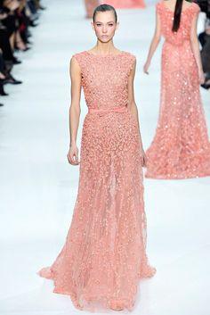 Elie Saab Spring 2012 Couture Fashion Show - Karlie Kloss (IMG)