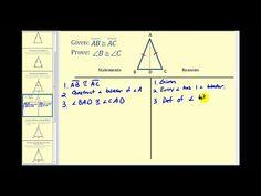 Prueba: el teorema del triángulo isósceles - YouTube Triangulo Isosceles, Line Chart, Diagram, Youtube, Youtubers, Youtube Movies