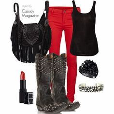 Valentine's Day Outfits for Cowgirls | Cassidy Magazine™