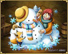 ルフィの冬島冒険