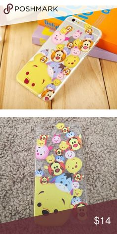 Tsum Tsum Disney Winnie The Pooh Iphone 6 6s Case New never used, hard case. Accessories Phone Cases