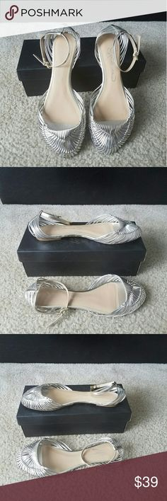 Report Signature Ankle-strap Sandals Report Signature ankle-strap sandals   Color: Gold and silver   Size: 9.5  Condition: Brand new  (please view all photos) Report Signature Shoes Sandals