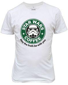 camiseta star wars starbucks promoção
