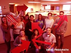 Red Ribbon Week - We choose a drug free path. Red Ribbon Week, Drug Free, Our Kids, Drugs, Education, Onderwijs, Learning