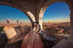 Destination wedding in Cappadocia, Turkey