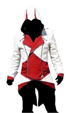 Amazon.com: Dazcos Connor Kenway Cosplay Costume Hoodie/Jacket/Coat (Men S): Clothing