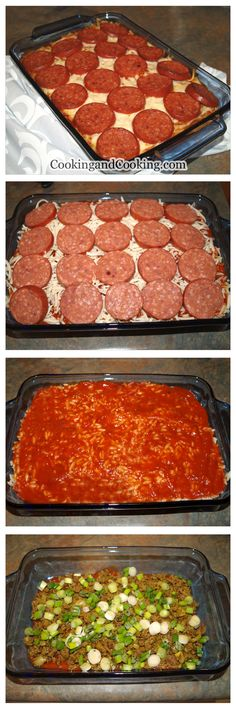 Orzo and Pepperoni Casserole recipe is a cheesy and kid pleaser recipe! This casserole recipe is a perfect combination of ground beef, orzo, pepperoni, mozzarella and ricotta cheese. Orzo Recipes, Chef Recipes, Italian Recipes, Cooking Recipes, Icebox Cake Recipes, Dinner Recipes For Kids, Casserole Recipes, I Foods, Love Food