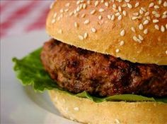 StufZ Presents: Buffalo Sauce Burgers Stuffed with Blue Cheese