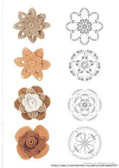73 Immagini Fantastiche Di Uncinetto Irlandese Schemi Crochet
