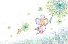 Flying fairy    http://hazelmitchell.com