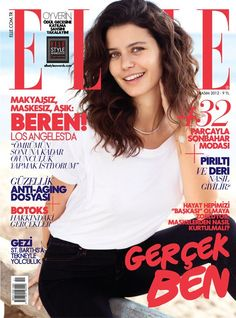 #Elle Turkey November 2012 #Beren Saat