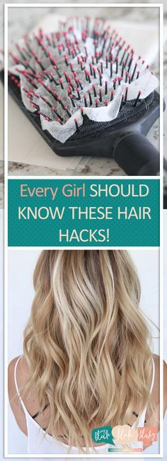 Every Girl Should Know These Hair Hacks! – Pin Club - - Every Girl Should Know These Hair Hacks! – Pin Club Every Girl Should Know These Hair Hacks! – Pin Club Every Girl Should Know These Hair Hacks! Beauty Care, Diy Beauty, Beauty Skin, Homemade Beauty, Beauty Makeup, Beauty Hacks For Teens, Beauty Hacks 2018, Pelo Natural, Corte Y Color
