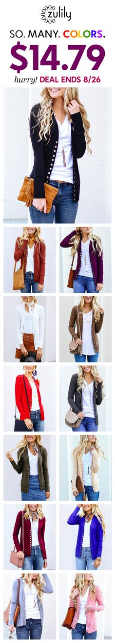 Every wardrobe could do with an extra cardi. And a deal like this is the perfect excuse to refresh your collection. Business Casual Outfits, Classy Outfits, Pretty Outfits, Cute Outfits, Fashion And Beauty Tips, Fall Winter Outfits, Fashion Outfits, Womens Fashion, Workwear