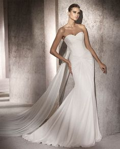 cc1413c1670 Wedding dress online shop - Chiffon Strapless Sweetheart Neckline Gathered  Bust and Waistline Mermaid Draped Skirt with Chapel Train 2012 Wedding Dress