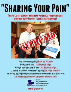 .@TonyAbbottMHR and @Joseph Cohen Jonge Cohen Richmond will help to share YOUR pain.  Greedy and mean or just plain liars?  #AUSpol #insiders pic.twitter.com/YmUFQMejf5