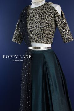 LUXE Rue Cold Shoulder Blouses by Poppy Lane Toronto