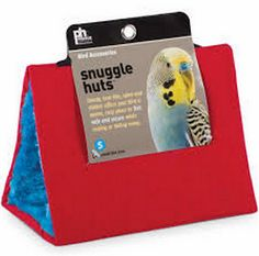 Small Red Snuggle Hut for Birds by Prevue Pet 1163