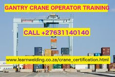 Crane school:-How to get crane operator certification in south Africa? Welding Schools, Crane Mobile, Pipe Fitter, Gantry Crane, Training Courses, Carpentry, Plumbing, Certificate, Joinery