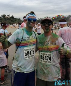 Photo: Bradley Steven Perry At The Color Run February 2, 2013