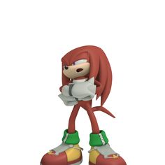 Knuckles (Sonic Free Riders) Sonic Free Riders, Echidna, Some Games, Sonic Art, Sonic The Hedgehog, Mario, Anime, 3d, Fictional Characters