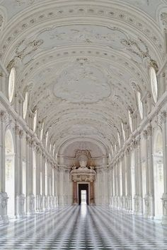 Palace of Venaria- Turin, Italy - a former royal residence was designed and built around 1675. Included in the UNESCO Heritage List....x