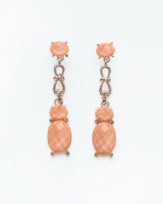The Peony Rock Earrings by JewelMint.com, $29.99