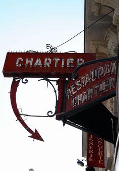 Art Nouveau - Paris - Restaurant Chartier - 7 rue du Faubourg Montmartre - 9ème
