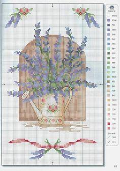 Gallery.ru / Фото #54 - 31 - kento Cross Stitch Love, Cross Stitch Flowers, Cross Stitch Charts, Cross Stitch Patterns, Cross Stitching, Cross Stitch Embroidery, Crochet Cross, Needlework, Couture