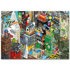 New York Poster, 18€, now featured on Fab.