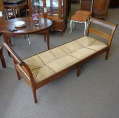18th Century French Antique Directoire Period Bench