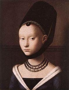 potrait of a young girl petrus christus