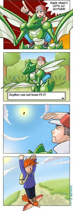 遊戲設計時的合理性考量( pokemon)